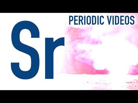 Strontium - Periodensystem der Elemente
