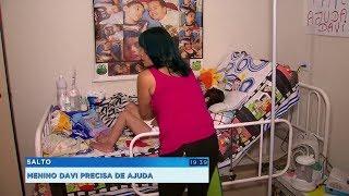 Mãe recorre à Justiça para conseguir atendimento especial de saúde para o filho em Salto