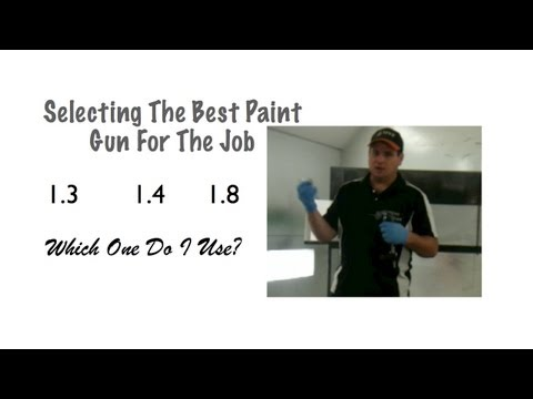 0 Spray Gun Tips   Adjustments and Techniques   6 Videos