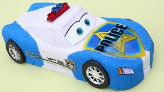 DIY Car 3 Lightning McQueen Police Car Kinetic Sand Disney Pixar Cars New Movie Colors Kinetic Sand