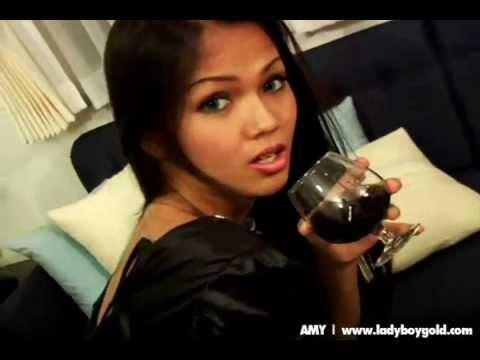 Ladyboy Amy Heaven (видео)