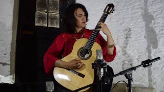 Daniela Rossi plays Sonata by Dusan Bogdanovic I - Allegro Ritmico- Live at St Ives