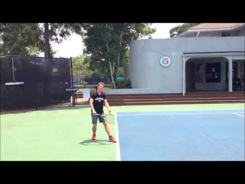 Eduan Louw - Van Der Meer tennis video