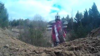9. Husqvarna TE510 vs Honda CRF450 | HillClimbs/Fails/Enduro