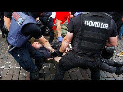 Kiew: Dutzende Verhaftungen von Gay Pride Gegnern