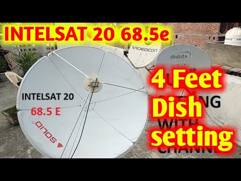 INTELSAT 20 68.5 E FULL SETTING AND CHANNEL LIST