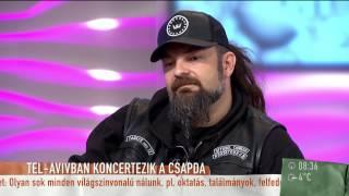Először turnézik Európán kívül a Tankcsapda - 2015.04.08. - tv2.hu/mokka