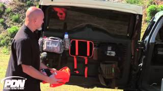 Rob Pincus demonstrates two types of products from Spring Tail Solutions. He employed both on the 2013 PDN Training Tour Truck. First are M-Pac Racks, which ...