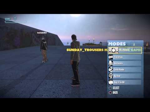 Tony Hawk's Pro Skater 5 - ONLINE GAME MODE OPTIONS - MULTIPLAYER