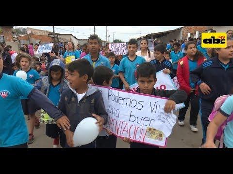 Niños y adolescentes reclaman sus derechos