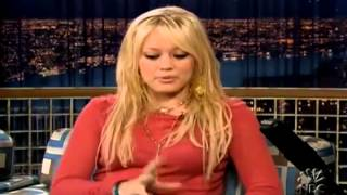 Hilary Duff - Conan O Brien - 06.10.2004