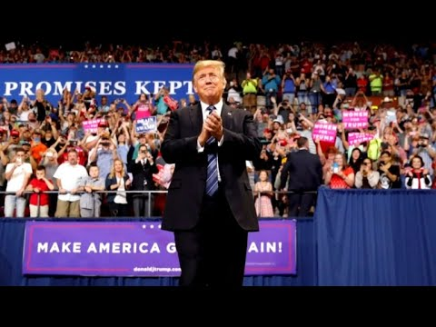 Trump holds campaign rally in Montana