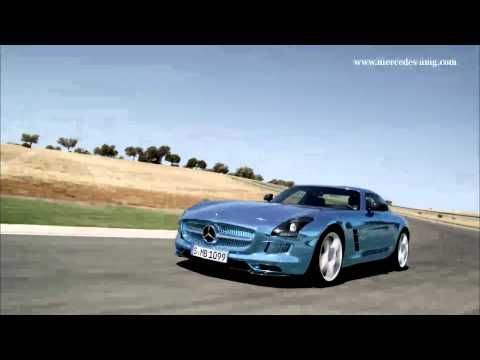 The Electrifying Mercedes SLS AMG Coupe Electric drive