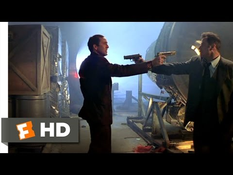 Faceoff - Face/Off Movie Clip - watch all clips http://j.mp/wQcTxZ click to subscribe http://j.mp/sNDUs5 Archer (John Travolta) has a shootout with Castor Troy (Nicola...