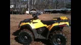 7. 2006 can am outlander 400 xt
