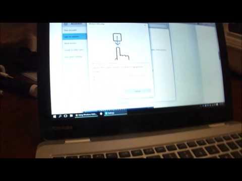 Setting up Dell FP-61001 Fingerprint Reader 0WH177 on Windows 10
