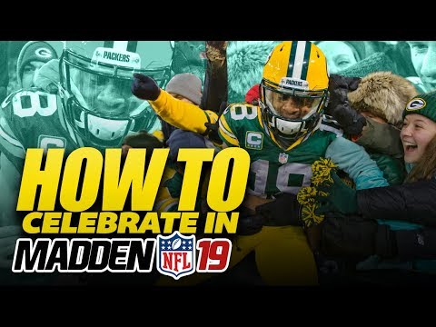 How to Celebrate in Madden NFL 19 - NEW Touchdown Celebrations!!
