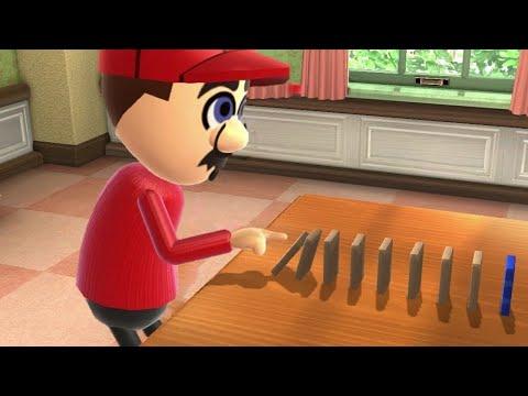 Wii Party U Minigame Battle - Mario vs Matt vs Andre vs Sophia