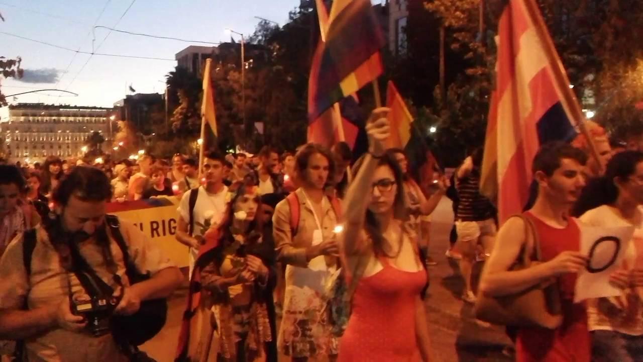 Αθηνα: Πορεία για τα θύματα του Ορλάντο