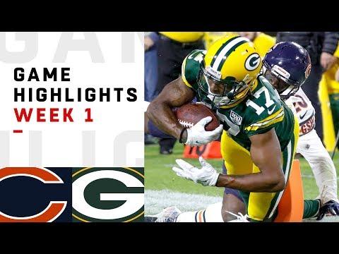 Bears vs. Packers Week 1 Highlights   NFL 2018