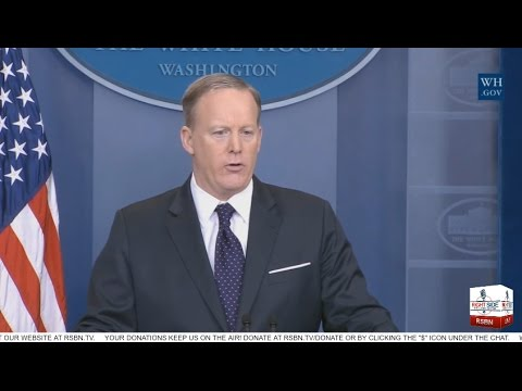 LIVE STREAM: WHITE HOUSE PRESS BRIEFING W/ PRESS SEC. SEAN SPICER 3/30/17