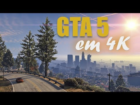 PC GAMER ideal para o 4K | GTA 5 com GTX 1080 TI - Grape Tec