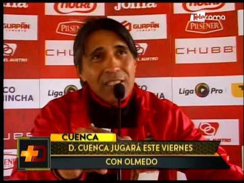 Deportivo Cuenca jugará este viernes con Olmedo