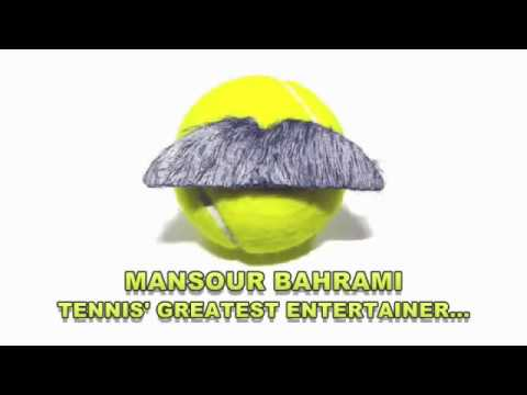 Greatest - Mansour Bahrami, tennis' greatest entertainer. This is a video montage of Mansour Bahrami's greatest comedic moments, tricks and skills. A fantastic athlete ...