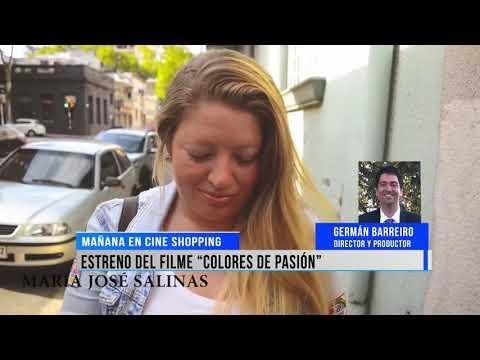 "Mañana se estrenará en cine Salto Shopping el filme ""Colores de Pasión""."