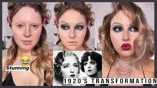 *new decades series* 💕 1920s Makeup Look 🚬 i can't deal with this lol by Shaaanxo
