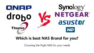 Choosing the Right NAS Brand for your needs - Advantages and Disadvantages https://www.span.com/search/nas_space_server/10-03:09 - WHAT IS NAS?05:05 -  WHY NOT CHOOSE A CLOUD DRIVE, LIKE DROPBOX, iCLOUD OR GOOGLE DRIVE?08:21 - Synology12:48 - QNAP18:58 - WD24:27 - Drobo29:32 - Netgear33:29 - Thecus39:29 - AsustorApplicable to all- All are compatible with Mac, Windows, Android and Linux- All can be accessed via Mobile apps, though there are more on some other brands than others- All can be accessed via your web browser – like Chrome, Opera, Safari, and...sigh… explorer- All use SATA HDD and SSD, with some having SAS enterprise options too- All work worldwide and can be accessed worldwide- 3rd Party applications like PLEX, KODI, APPLE TIME MACHINE and DLNA- Almost all are either WiFi enabled or can have a WiFi dongle attached – though your speeds will suffer- All when purchased NEW arrive with warranty of at least 2 yearsNetwork Attached Storage – currently the most popular means to store, access, share and distribute data across your home, your city and the rest of the world- access your media on the go or via multiple Network devices in the home- Backup all your devices easily and at a time of your choosing, wire-free- mail servers and web servers with multiple larger files- using ISCSI , no need to worry about your PC only wanting to see local drives (you can access and edit the data on the NAS as you would a normal C:/ drive)3 main reasonsCOST – The cost of most 2 year subscriptions cost about as month as a low key file server NAS from almost all the vendorsACCESS – NAS  provides more apps, file level tailored use and can be better adapted into popular 3rd Party applications like PLEX, KODI, APPLE TIME MACHINE and DLNA supported devicesPRIVACY – NAS provides full individual user control and access, as well as admin controls. Plus the NAS can be fully disconnected from the Internet/Network at your discretion.THE BRANDSPROSMost popularLowest Power ConsumptionQuietTask specialised Ranges like 'PLAY', 'PLUS' and 'J'Voted most stable80+ Mobile AppsSHR and SHR-2 – also BTRFSOften the smallestDesktop and Rack-mount options availableBest software for Home and SMBCONSOften the most expensiveGenerally Synology NAS have the lowest hardware powerMore technically minded folk will need to dig a little to get to the nitty grittyMay feel limited for those looking to evolve their storageNetwork ONLY – no HDMI, Audio in/out, Thunderbolt, etcPROS2nd Most popularAlmost all range is metal in designHDMI and remote control included in most Media NAS devicesThunderbolt NAS optionsUSB 3.0 DAS ConnectivityMore appsTechnical information far more readily availablebusiness class NAS devices include ZFS as a file systemLower price compared with Synology in terms of hardwareUser-friendly GUI – But just not quiet as nice as SynologyDesktop and Rackmount options availableBest software for business and Media usersMuch better business options and definitely the best for virtual machinesCONSA more android feel towards apps and stability means some users will be put offLacking the BTRFS and SHR support of SynologyHigher typical Power consumptionOften a fraction noiser due to chiefly metal chassismuch larger range of devices can lead to confusionmost units arrive with 2-3 Years warranty, but longer will cost you morePROSPopular HDD Vendor too, expertise on their sidearrive often pre-populated so all warranty is covering Drives+NASVery fast set-up and can be deploy to deploy within 30 minsSmall+compact – featuring some of the lowest noise and power consumption of allUSB 3.0 DAS Connectivity3 year warranty on most unitsSome units have 2 x psu ports for RedundancyCONSEXT4 onlybarely any moile apps and relies on 3rd party mobile apps to connect over IP/Network settingsSmaller App selection in app storeLimited User InterfaceNo HDMI, 10GBe, only USB 3.0 and 1GBe RJ45Often much lower specs than Synology and QNAPVERY small rangeDesktop Only – No rackmount or Larger optionsHuge Mac Support and Well Known BrandVERY Quiet and uses the least powerLovely designSupports BeyondRAIDTooless installationmsata SSD Cache module support (included free with some units)Desktop and Rackmount optionsVery simple User-InterfaceHuge Mac and Windows SupportFantastic Network configuration optionsrugged and sturdy metal designOften longer warranties than other brands like-for-likeCan be purchased pre-populated, so warranties are all coveringSupports usual RAID levels, as well as X-RAID and X-RAID 2 – Expandable RAID volumes not unlike SHRDesktop and Rackmount option