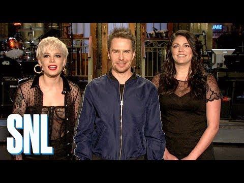 Sam Rockwell, Not Halsey, Won a Golden Globe - SNL