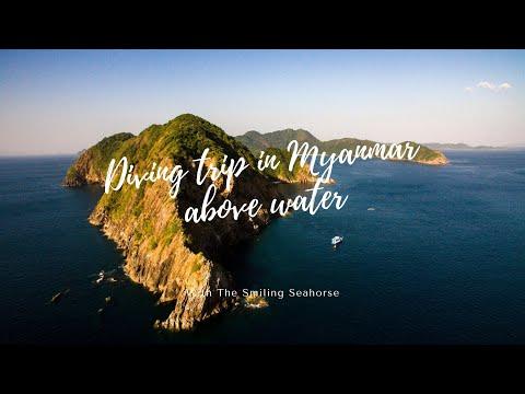 Trip report- Diving in Myanmar 2015