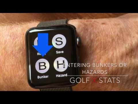 Golf X Stats - Apple Watch App