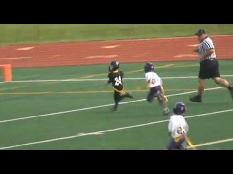 Jake Domzalski #24 Berkley Steelers 2011 Football