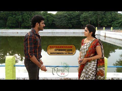 Nadhaswaram 12th November 2014  Watch Online Nadhaswaram Serial  Sun TV Serial  12 11 2014   Episode 1209