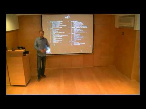 Yariv lecturing at IBM Haifa part 2