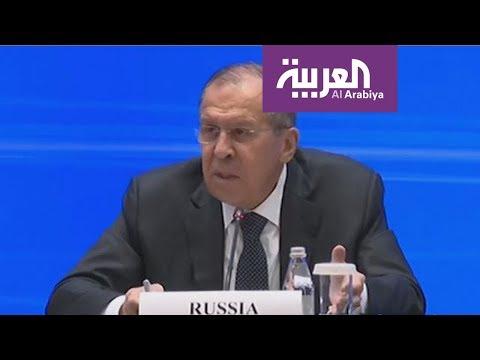 العرب اليوم - شاهد: لافروف يؤكد أن وليامسون شاب لطيف يعوزه الأدب