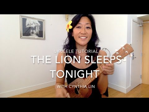 Lion Sleeps Tonight // Ukulele Chucking Strum Tutorial