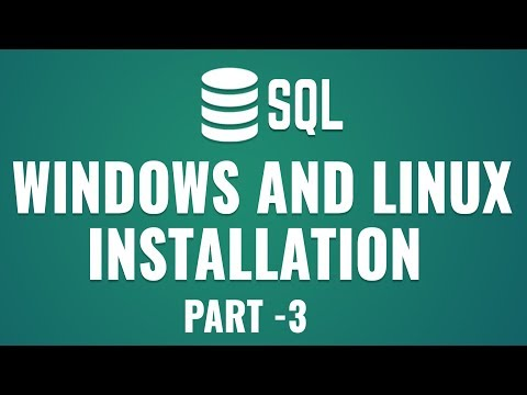 Learn Database Design with MySQL |Getting Started With MySQL | Windows \u0026 Linux Installation | Part 3