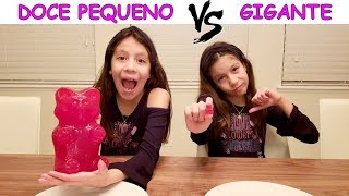 Video DOCE PEQUENO VS GIGANTE MP3, 3GP, MP4, WEBM, AVI, FLV Oktober 2018