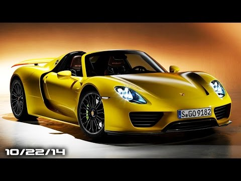 hr - Porsche's 918 is a hot item, because they are sold out (for now). Hyundai will be adding another, more affordable sports car to its lineup, Land Rover will have an SVR Defender from their...