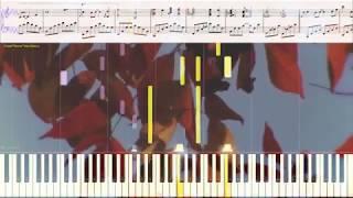 The Quit - John Boswell (Ноты и Видеоурок для фортепиано) (piano cover)