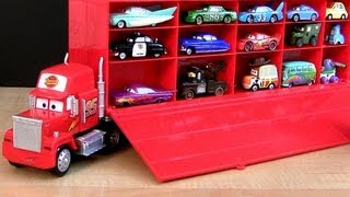 Video Disney Cars Mack Truck Hauler Carry Case Store 30 Diecasts Woody Buzz Toy Story  ディズニーカーズ マック MP3, 3GP, MP4, WEBM, AVI, FLV Juni 2018