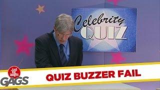 Celebrity Quiz Buzzer Fail Prank