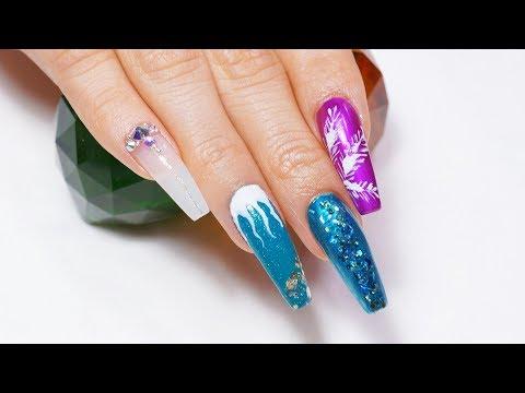 Nail salon - Christmas Nail Ideas for Salon Use