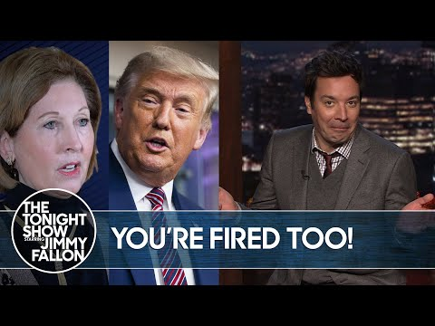 Trump Fires His Lawyer for Wild Conspiracy Theory Claims | The Tonight Show