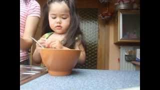 Pasa Weingping 2.6 Yo.ทำอาหารเมนูถั่วงอก