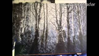 How to paint a woodland scene
