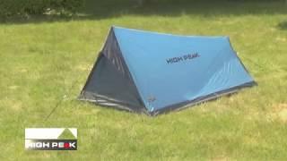 Компактная палатка для трекинга. High Peak Minilite
